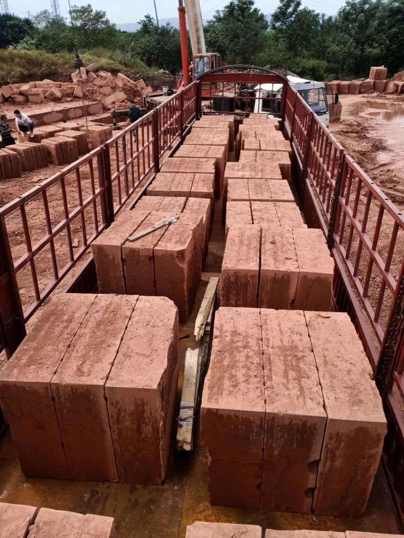 红砂石生产基地