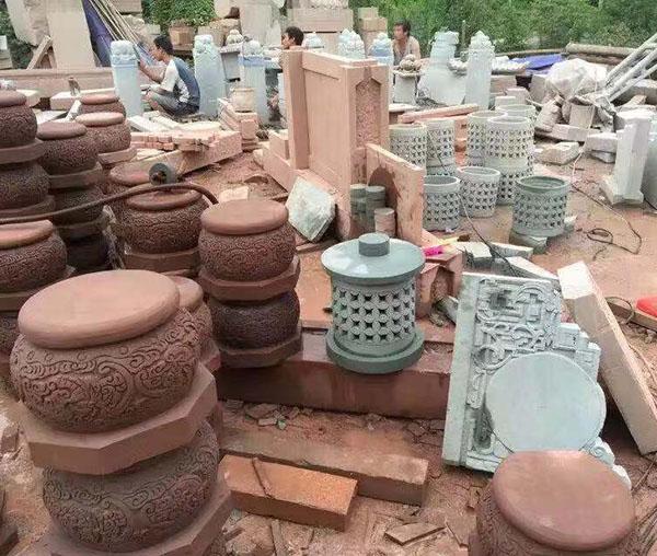 四川红砂石雕塑厂家