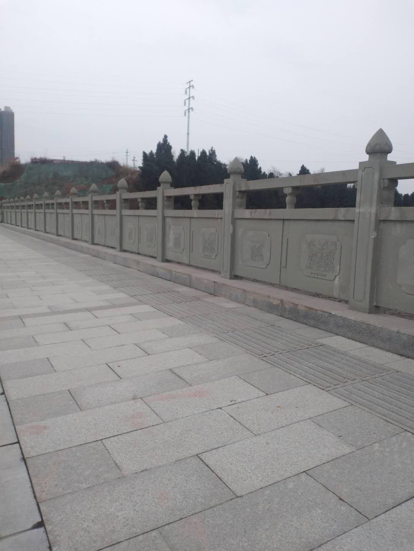 青石板及雕刻栏杆