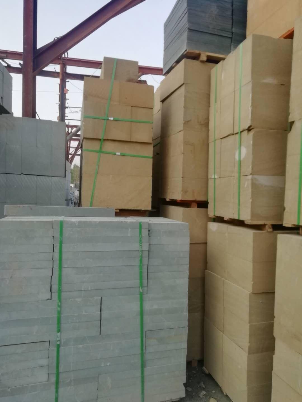 黄砂石青砂石工程板