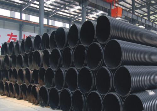 钢带增强(HDPE)缠绕管
