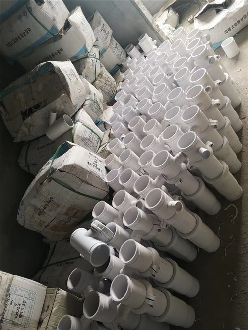 陕西沟槽式卡箍柔性静音排水管道现货供应