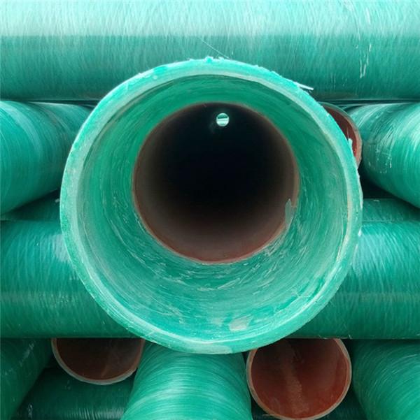 陕西玻璃钢电力管有什么优越性?具体说明!