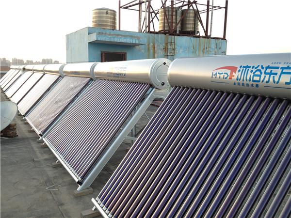 整体式小型太阳能热水系统