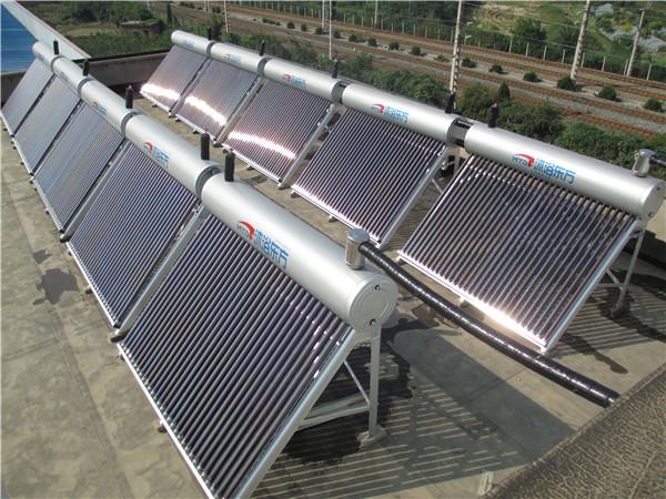 西诚能源太阳能热水工程