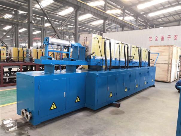 这套集高效、节能、环保于一体的方钢/磨球挤压生产线已生产制作完成