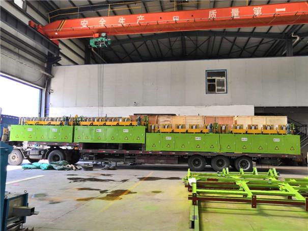 博大电炉D80中频感应钢球轧制生产线完工并发往客户现场!