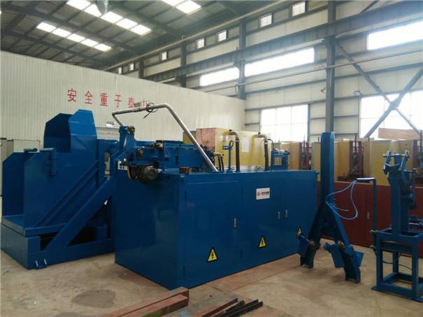 西安博大150kW中频感应铜加热炉已发往客户现场