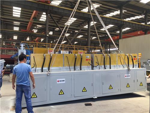 1000kW中频感应车轴生产线