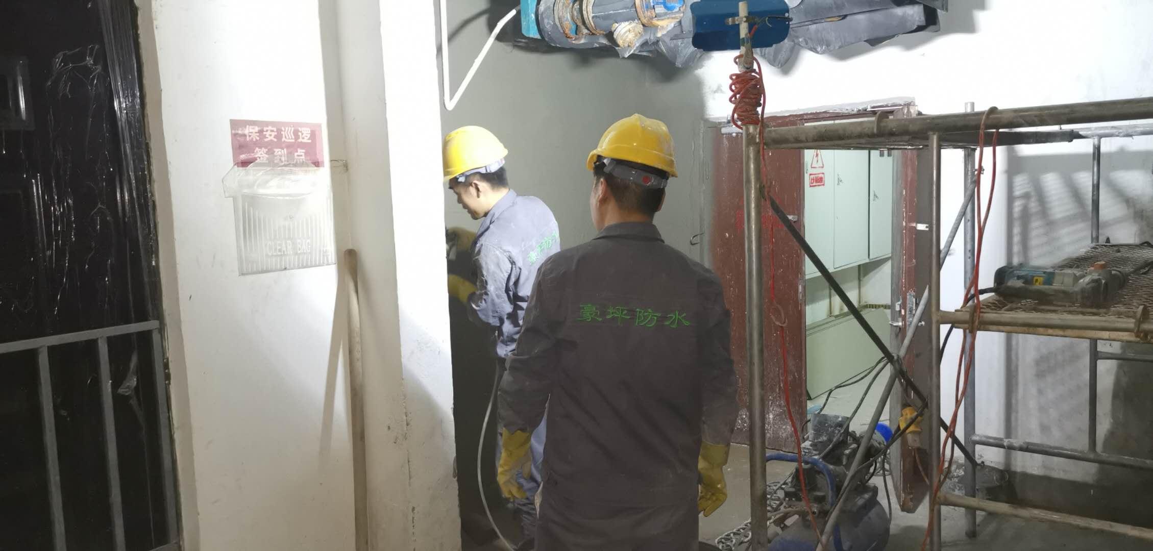 电梯渗漏水修缮施工团队