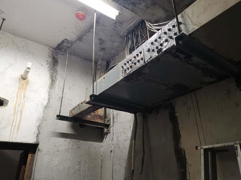 高压配电室渗漏水维修工程