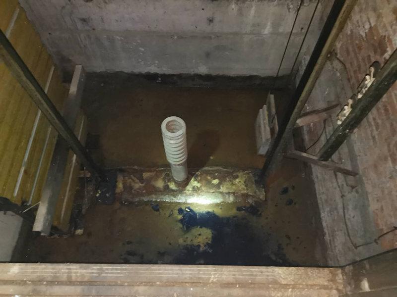 陕西电梯井道渗漏水维修工程