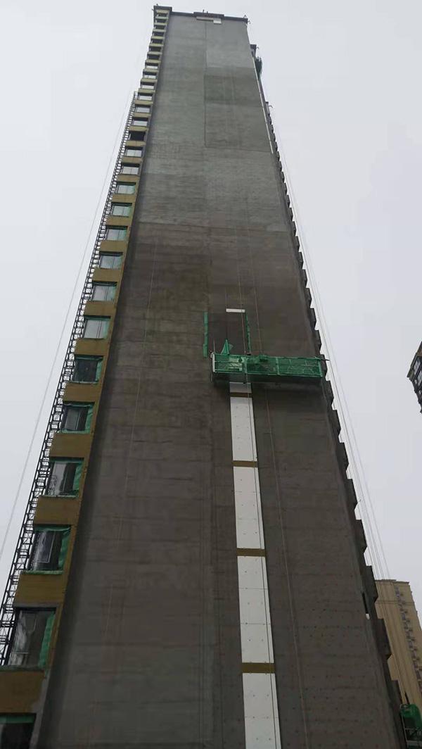 金科世界城保温板施工项目