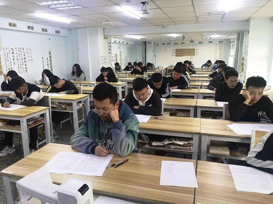 凤鸣艺考文化课学生月考测试