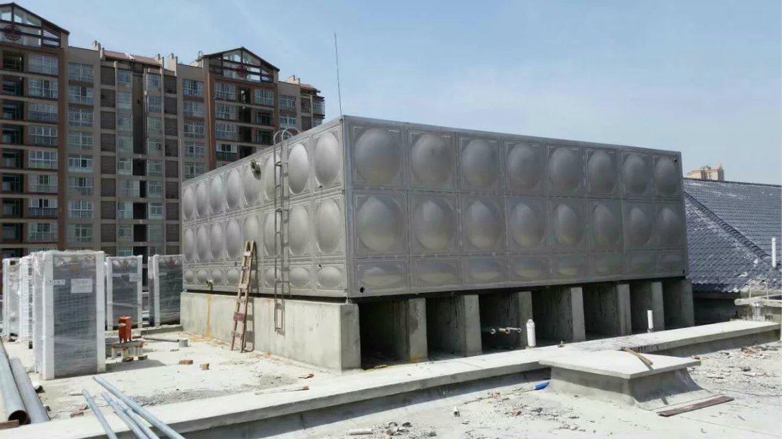 四川不锈钢水箱客户案例--新都一中