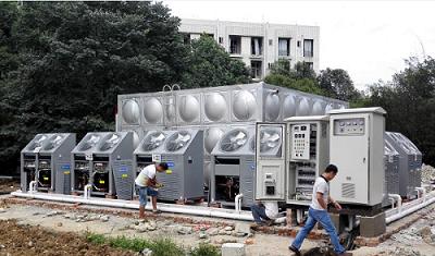 四川大型不锈钢水箱客户见证