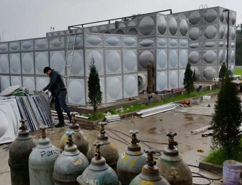 四川不锈钢水箱成功案例