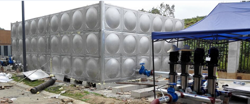 成都大型不锈钢方形水箱
