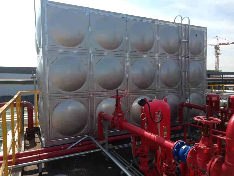 四川不锈钢水箱客户案例---德阳百世可乐