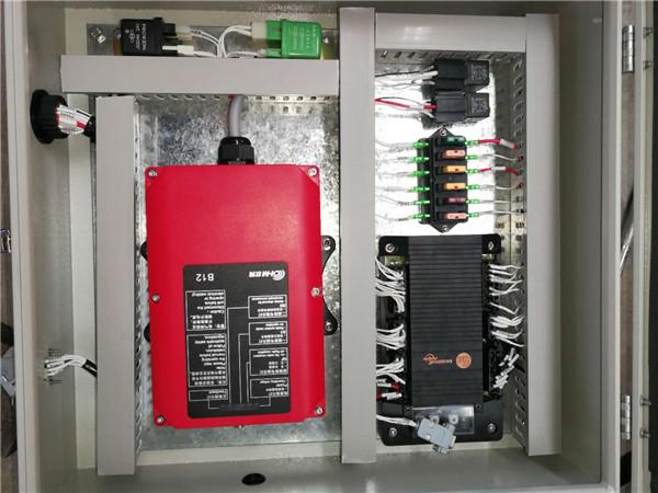 河南抑塵車電控系統