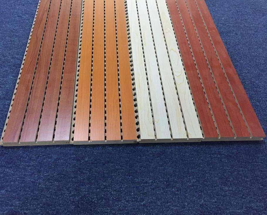 为什么木质吸音板的背面都会有一层布?