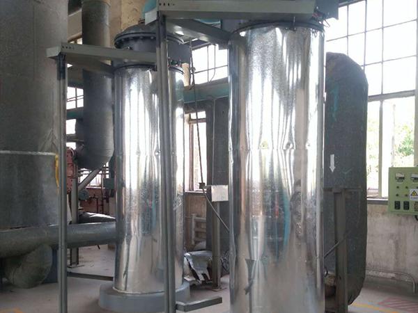 甘肃银光聚银化工有限公司氮气站用空气加热器