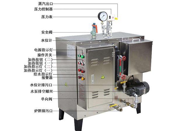 燃油电锅炉水垢堆积的隐患需要按时对内腔进行清洗