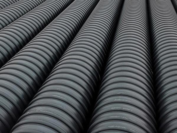西安HDPE钢带螺旋波纹管