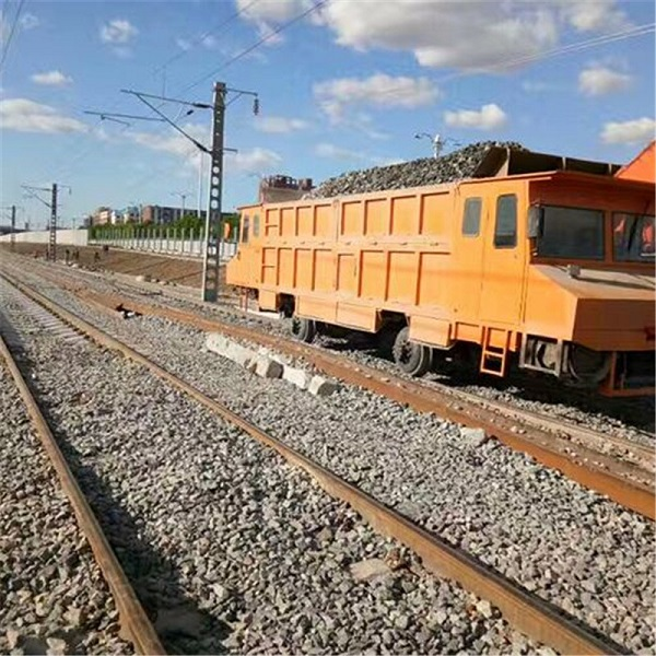 某铁路施工选择使用普彬轨道老K车