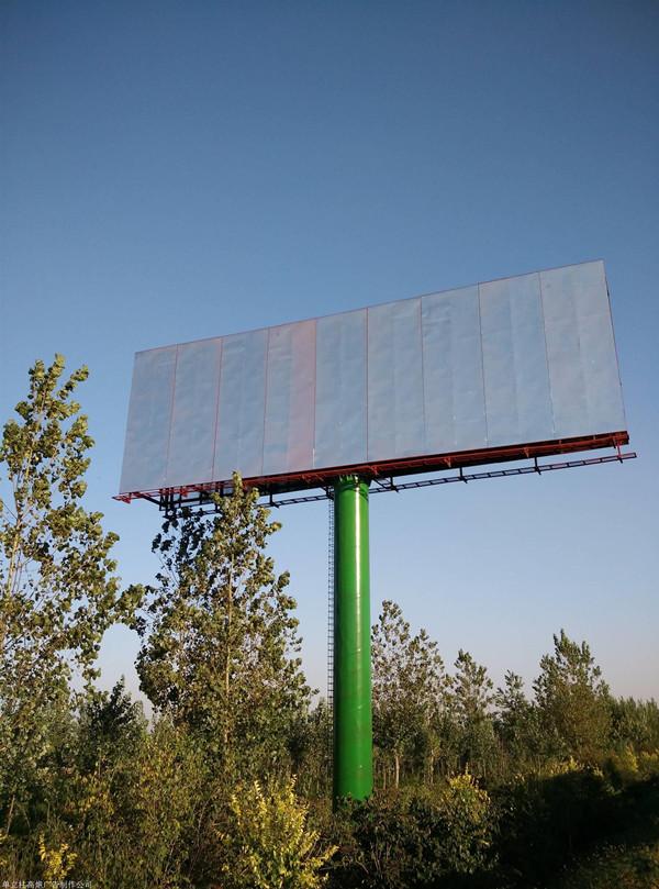 成都广告安装中高炮广告牌对钢材的要求