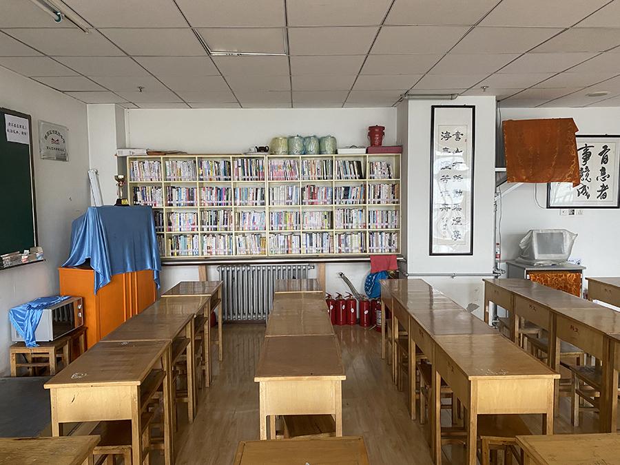 兰州市西固区育人艺术学校公共阅览室