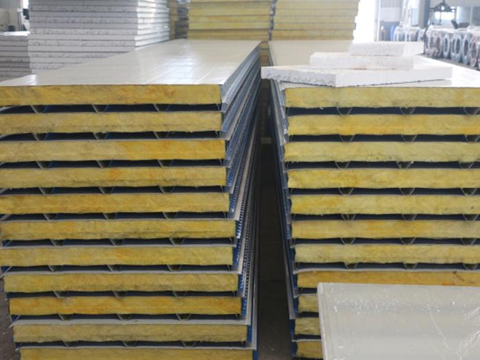 玻璃絲棉複合板成品