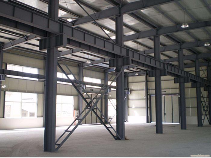 高新技术开发区晶体切片车间宁夏钢结构厂房