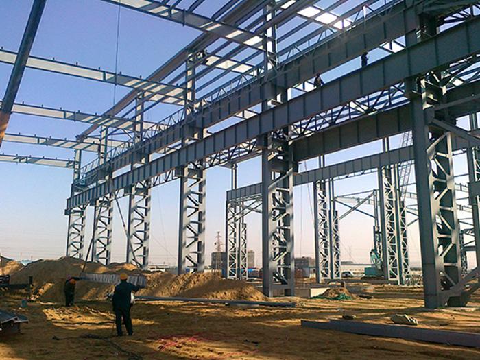 宁夏大正冶炼公司钢结构厂房