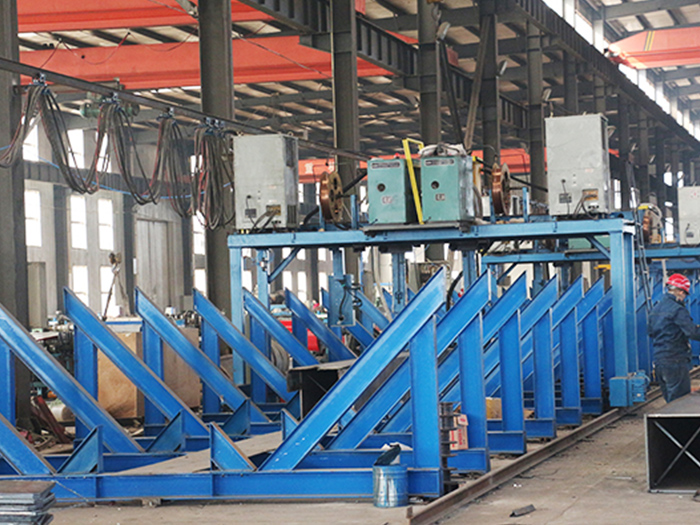 银川钢结构工程龙门焊机