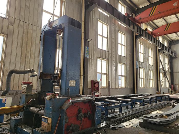 银川钢结构厂家设备展示