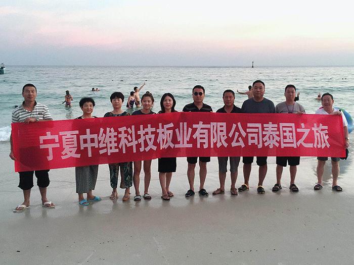 宁夏中维科技板业有限公司团建