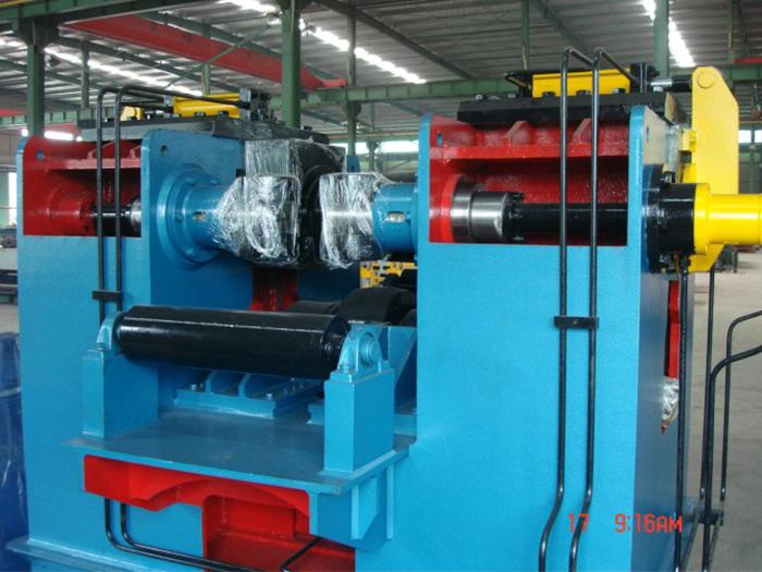 银川钢结构厂房JZ30型H型钢矫正机