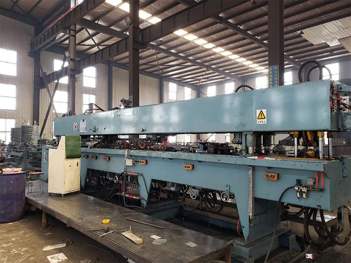 银川钢结构车棚厂区设备