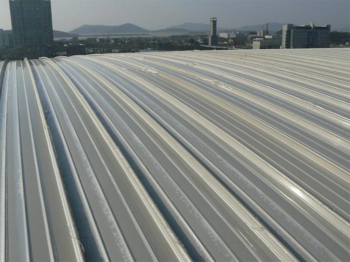 铝镁锰屋面板安装