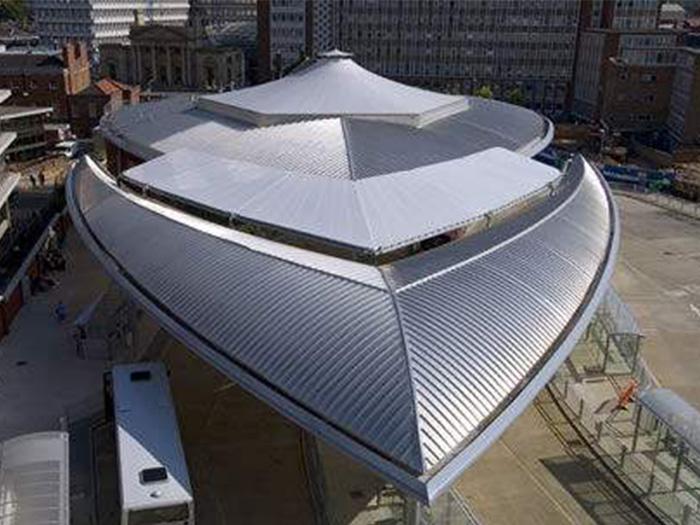 宁夏铝镁锰金属屋面板图
