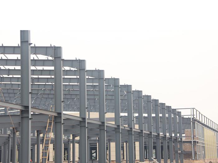 宁夏钢结构厂效果图