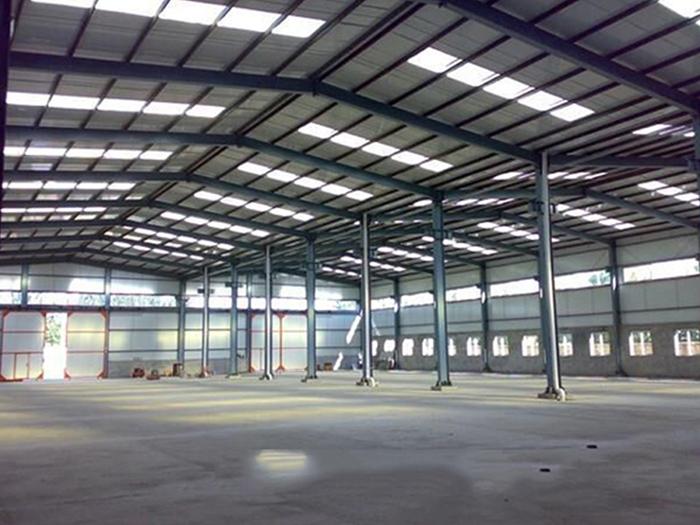 高层钢结构加层技术实例-宁夏中维钢结构