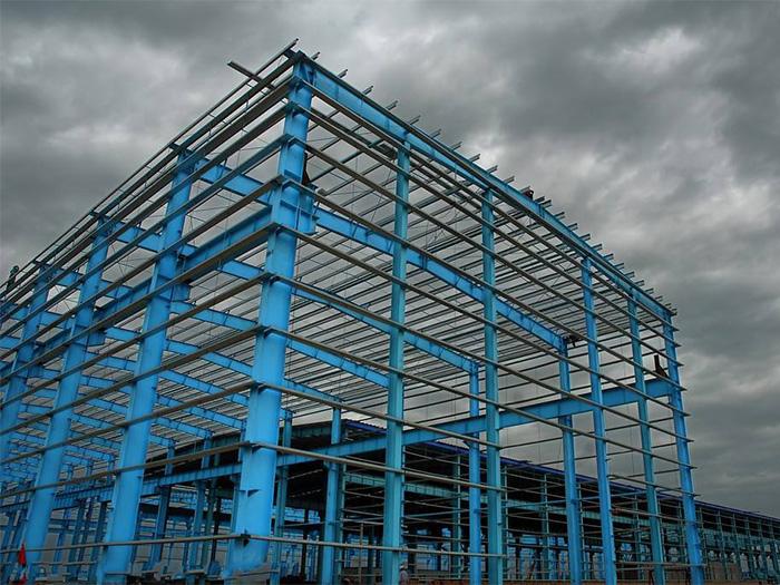 寧夏鋼結構製作的施工工藝的技術