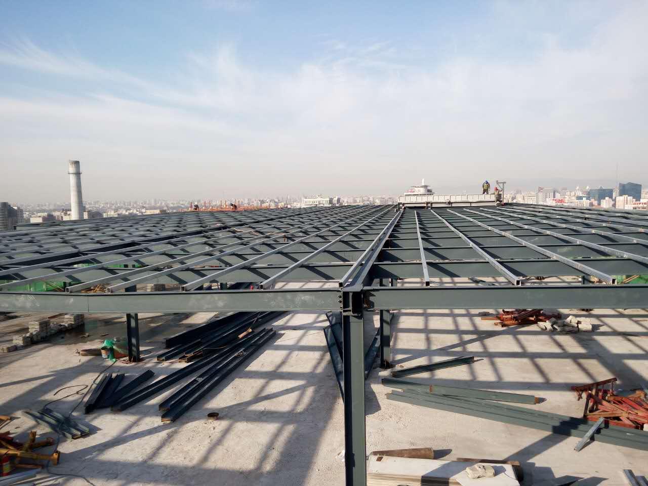 冬季室外钢结构工程防腐施工需注意哪些操作?