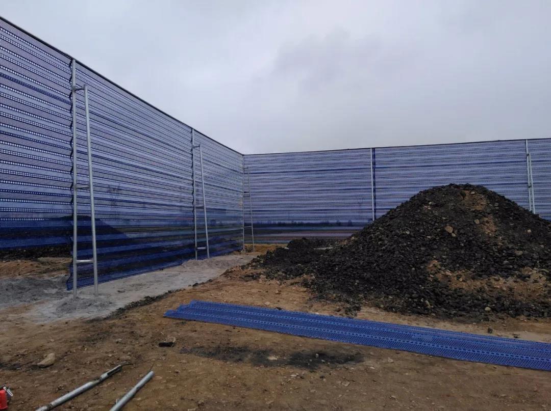 煤矿防风抑尘网安装后起到什么作用?