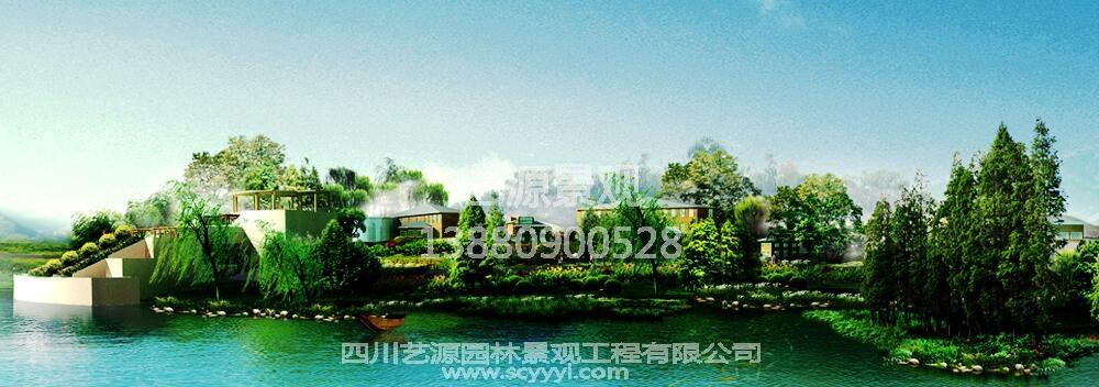 四川市政景观工程案例