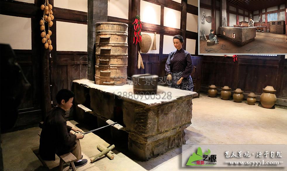 四川假山雕塑施工厂家