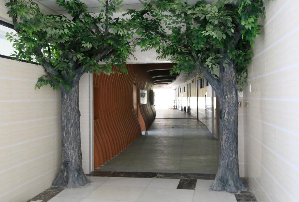 四川水泥假树制作