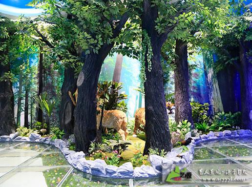 青白江大弯中学(森林场景)